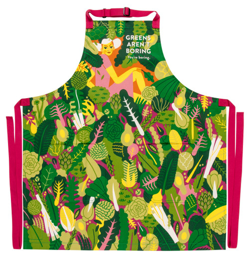 Greens Aren't Boring - Apron