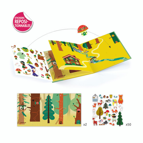 Magical Forest Sticker Stories