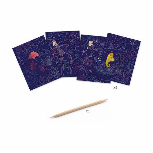 Lush Nature Scratch Cards