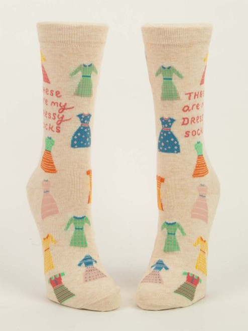These Are My Dressy Socks - Women's Crew Socks