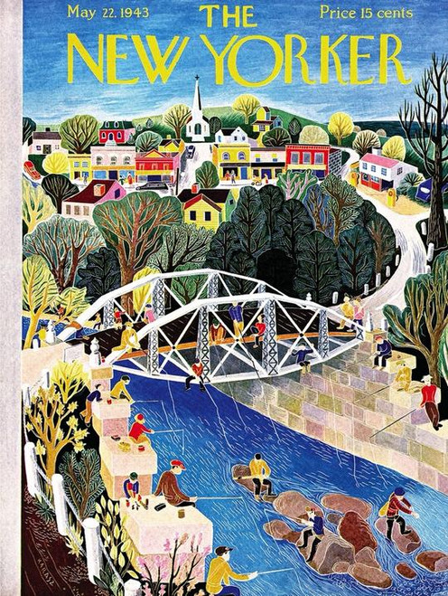 Fishing Bridge - 1000 pieces - New Yorker