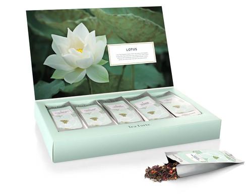 Lotus Single Steeps Organic Pyramid Tea Bags
