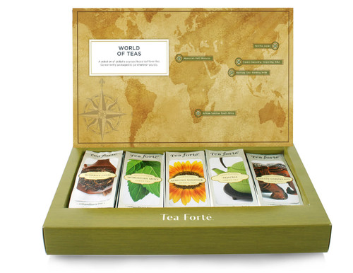 World of Teas Assortment Single Steeps