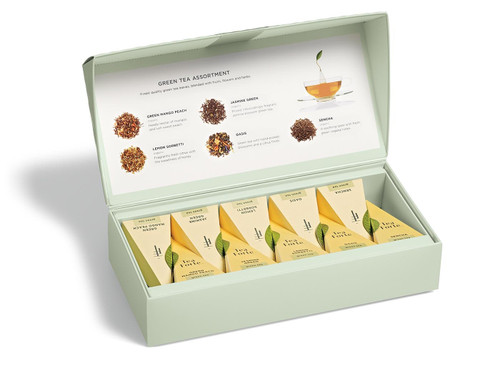 Green Tea Assortment Petite Presentation Box
