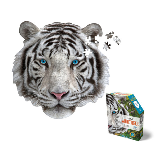 """I AM WHITE TIGER"" - 300 pc"