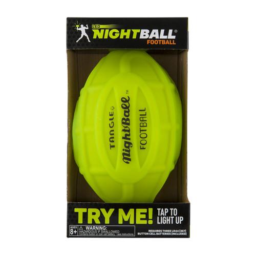 "NightBall - Football 8.5"" - Green"