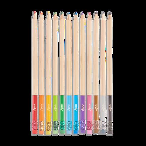 UnMistakables Erasable Colored Pencils - Set of 12