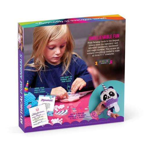Craft-tastic Mythical Pom Animals Craft Kit