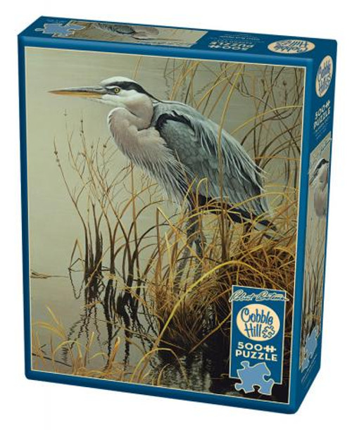 Great Blue Heron - 500 pieces