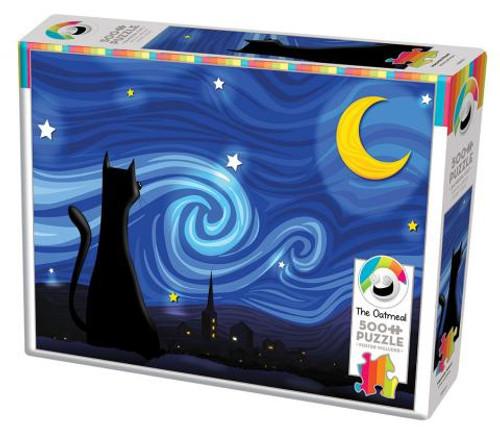 Mrowwy Night - 500 pieces