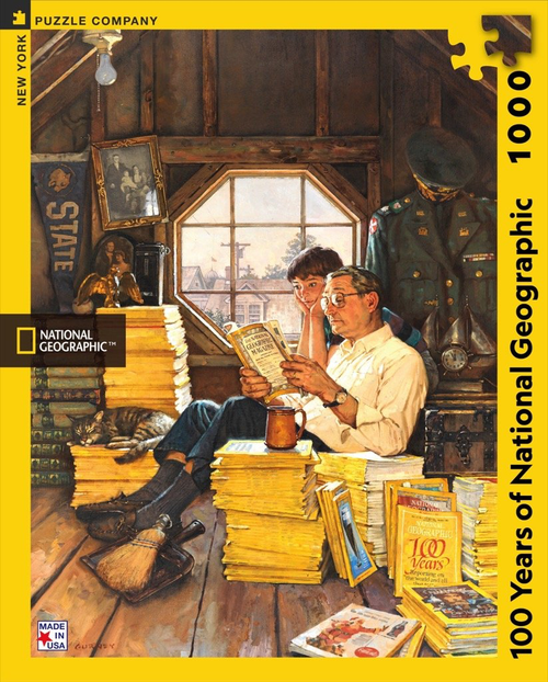 100 YEARS OF NATIONAL GEOGRAPHIC - 1000 Pieces