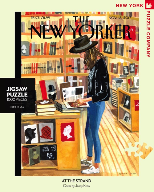 AT THE STRAND - 1000 Pcs - New Yorker