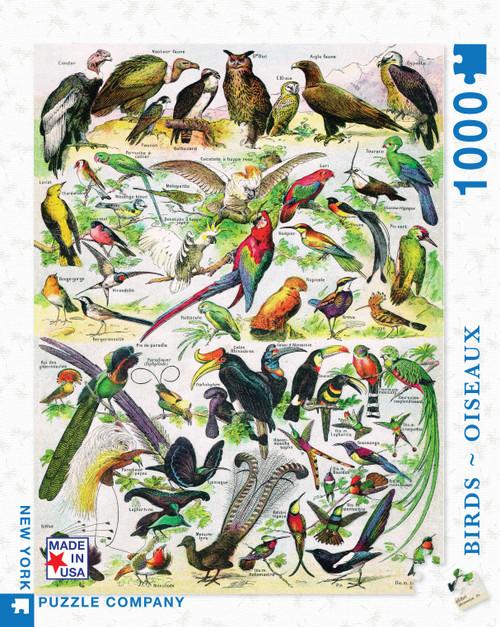 BIRDS ~ OISEAUX- 1000 Pcs