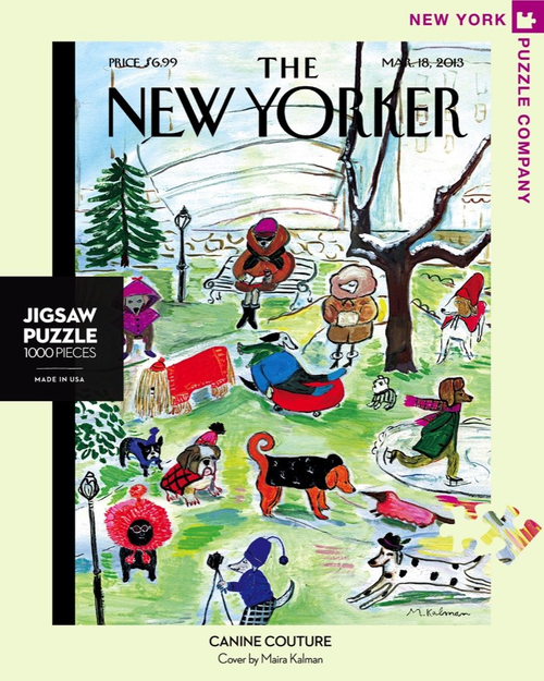 CANINE COUTURE - 1000 Pieces - New Yorker