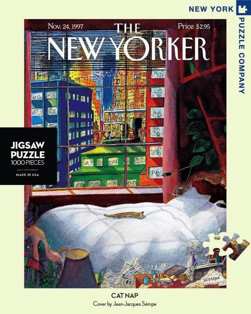 CAT NAP- 1000 Pcs - New Yorker