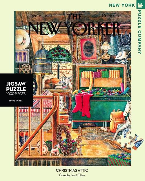 CHRISTMAS ATTIC- 1000 Pcs - New Yorker