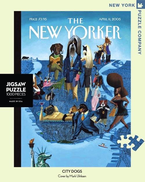 CITY DOGS- 1000 Pcs - New Yorker