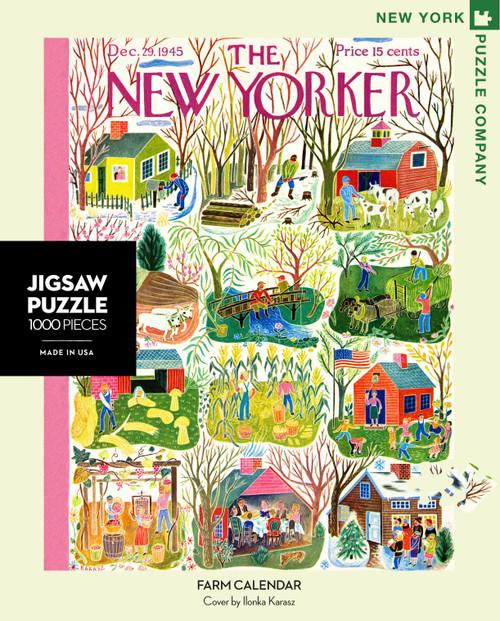 FARM CALENDAR- 1000 Pcs - New Yorker
