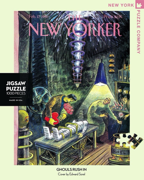 GHOULS RUSH IN - 1000 Pcs - New Yorker