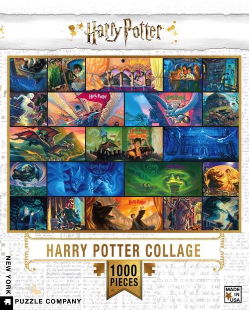 HARRY POTTER COLLAGE- 1000 Pcs