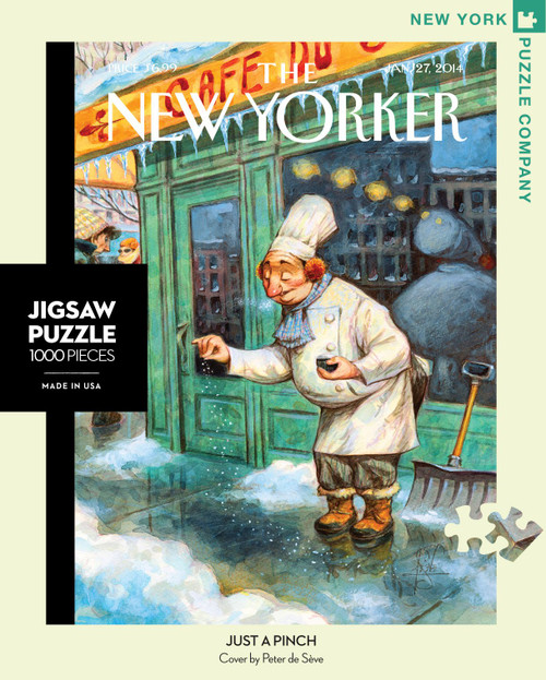 JUST A PINCH - 1000 Pcs - New Yorker
