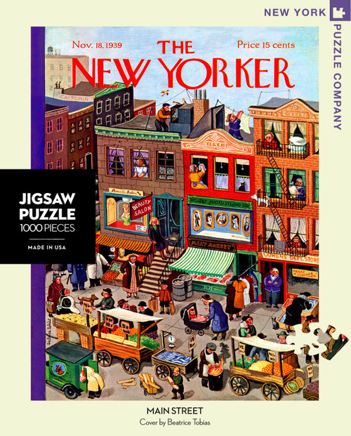 MAIN STREET- 1000 Pcs - New Yorker
