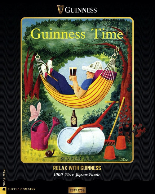 RELAX WITH GUINNESS - 1000 Pcs