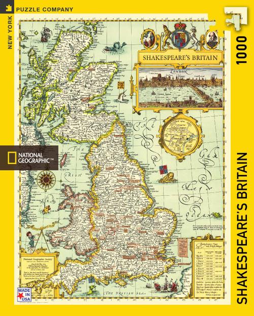 Shakespeare's Britain - 1000 Pcs