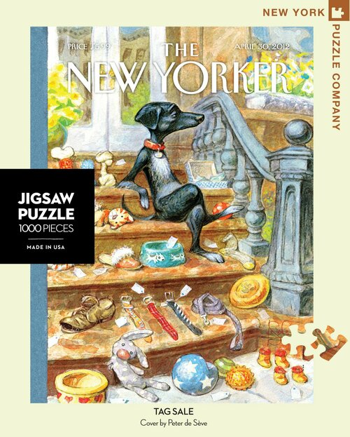 Tag Sale - 1000 Pieces - New Yorker