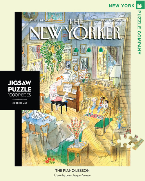 The Piano Lesson - 1000 Pieces - New Yorker