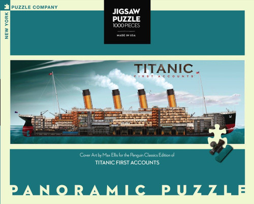 Titanic First Accounts - 1000 Pieces