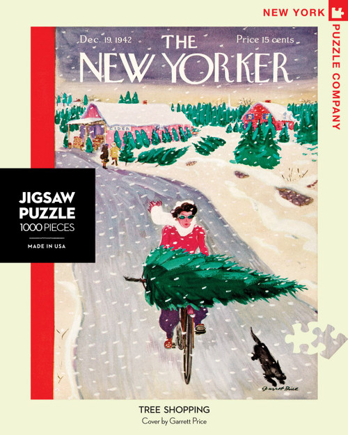 Tree Shopping - 1000 Pieces - New Yorker