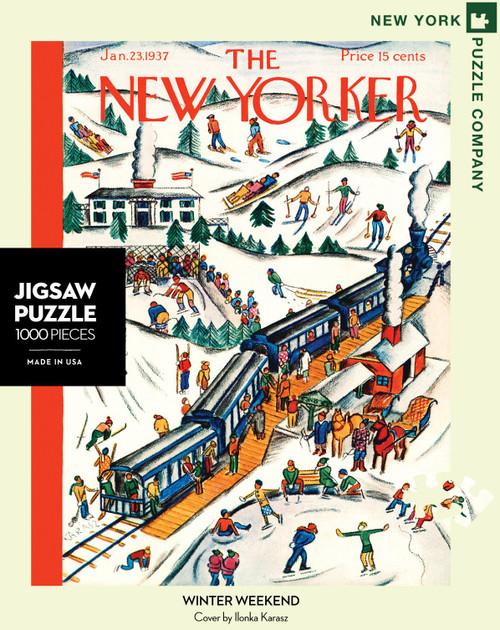 Winter Weekend - 1000 Pieces - New Yorker
