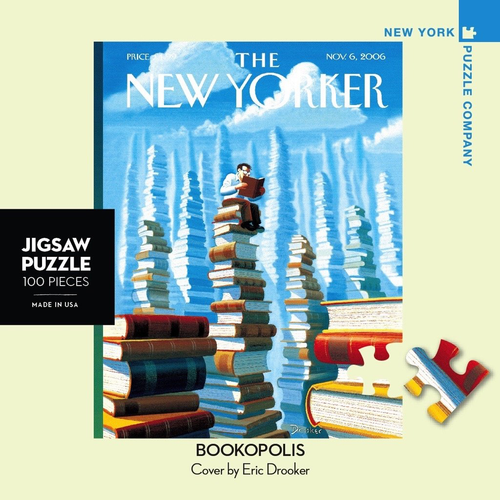 Bookopolis Mini - 100 Pieces - New Yorker