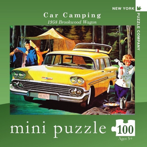 Car Camping Mini - 100 Pieces