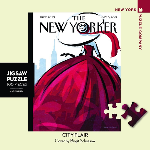 City Flair Mini - 100 Pieces - New Yorker