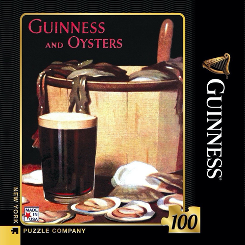 Guinness and Oysters Mini - 100 Pieces