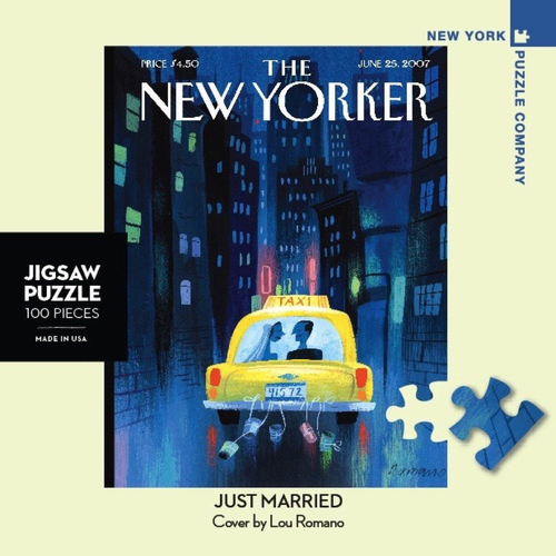 Just Married Mini - 100 Pieces - New Yorker