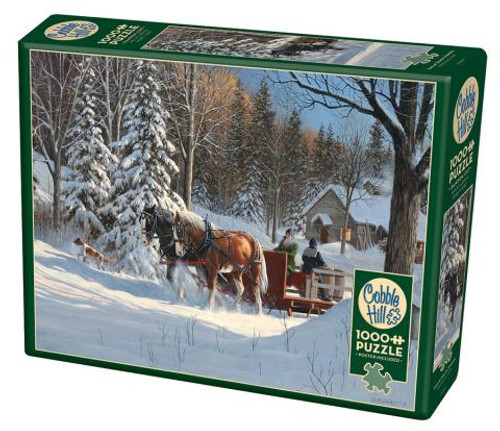 Sugar Shack Horses - 1000 pieces