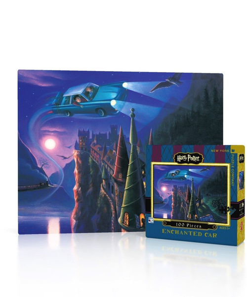 Enchanted Car Mini - 100 Pieces - Harry Potter