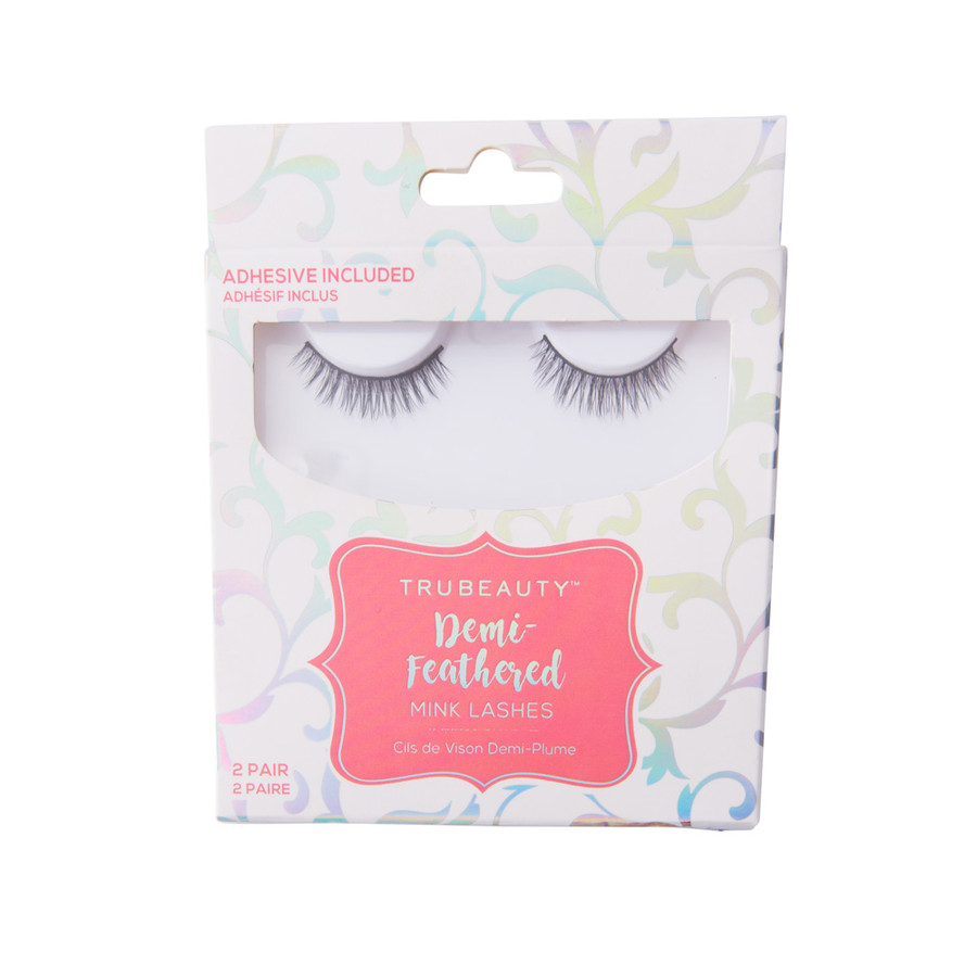 Tru Beauty Demi Feathered Lashes - 2 Pack