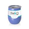 Swig Stemless Wine Cup 12 oz - Mom Life Hydrangea