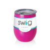 Swig Stemless Wine Cup 12 oz - Mom Life Berry