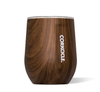 Corkcicle Stemless Wine Glass 12 oz - Walnut Wood