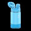 Takeya 14 oz Actives Kids Water Bottle w/ Straw Lid - Sail Blue Atlantic