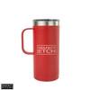 RTIC 16 oz Travel Coffee Cup - Cardinal, Matte