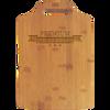 "13"" x 9"" Bamboo Cutting Board with Handle"