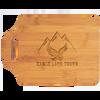"11"" x 7 3/4"" Bamboo Cutting Board with Handle"