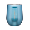 Corkcicle 12 oz Metallic Stemless Wine Glass - Moonstone