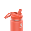 Takeya 24 oz Actives Water Bottle w/ Straw Lid - Coral
